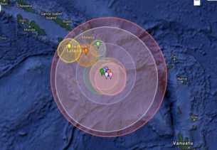 Gempa 6,6 SR Terjadi di Laut Bengkulu Utara