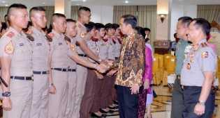 Pesan Jokowi untuk 720 Calon Perwira TNI-Polri yang Akan Dilantik
