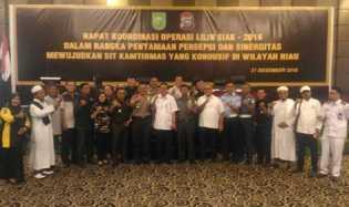 Tindak Pidana Kejahatan 2016 di Riau Meningkat