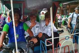 Tukang Becak Doakan Firdaus Jadi Gubernur Riau