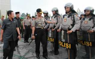 Antisipasi 'Serangan Fajar', Polresta Pekanbaru Kerahkan Tim Khusus