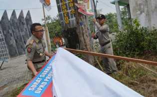 Baslu Riau Temukan Alat Kampanye Illegal