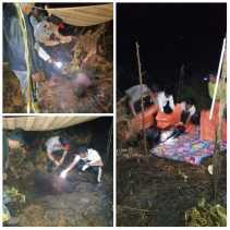 Ditemukan Sesosok Mayat Dalam Keadaan Terbakar di Kecamatan Gaung Inhil