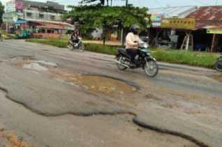 Polisi: Penyelenggara Jalan Dipidana Jika Lambat Perbaiki Jalan Rusak