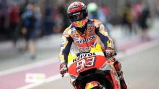 Aksi Penyelamatan Marquez Pada FP2 MotoGP Argentina