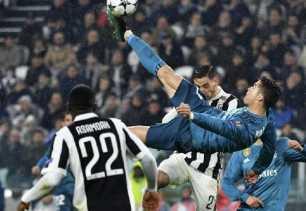 Gol Indah Ronaldo Permalukan Juventus