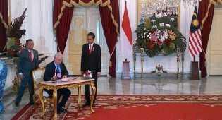 Pertemuan Jokowi Dengan PM Malaysia, bahas batas wilayah RI dan Malaysia