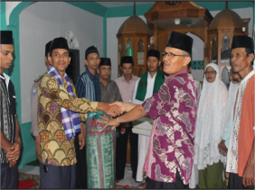 Tim Safari Ramadhan Pemerintahan Nagari Kapa, lakukan kunjungan terakhir ke Masjid Muslimin