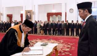 Muhammad Hatta Ali Resmi Jadi Ketua Mahkamah Agung