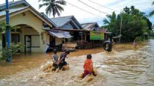 Puluhan Rumah Warga di Rohul Terendam Banjir
