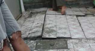 Luapan Lumpur di Marunda Center Membuat 30 Bangunan Retak-retak