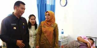 Firdaus - Ayat Anggarkan Rp 14,2 M Untuk Pembangunan di Bidang Kesehatan Tahun 2014
