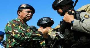 Menumpas Kekuatan Santoso, Polda Sulsel Kirim 105 Personel Brimob ke Poso