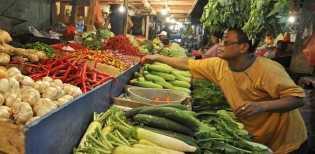 Jalan Sumbar-Riau Putus, Harga Sayur Mayur Naik Sampai 50 Persen