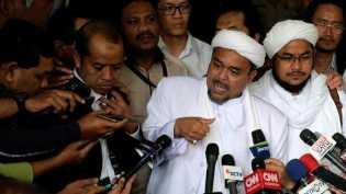 Polda Jabar Hentikan Kasus Rizieq Shihab