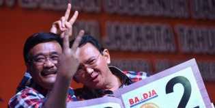 Survey Indocon Prediksi Ahok-Djarot Kalah, Pilgubri DKI Dua Putaran