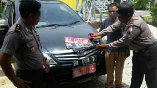 PNS Siak Gunakan Plat Nomor Palsu, Mobil Diamankan Polsek Tenayan