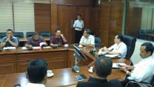 Menghadap Pemerintah Pusat, Sekdaprov Riau Bahas Pengembangan Kawasan Industri Tanjung Buton