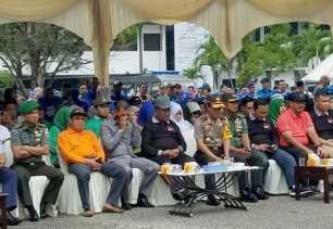 Plt Danrem 031/WB Ajak Warga Riau Tetap Jaga Persatuan