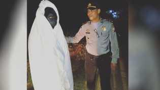 Nyamar Sebagai Pocong Upload ke Instagram, Lima Remaja Diamankan Polisi