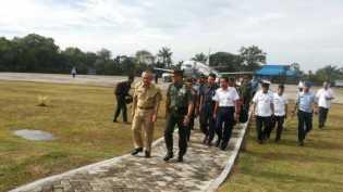 Tanam Padi, Panglima TNI Tiba di Pekanbaru Langsung ke Siak