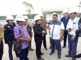 DPR RI dan Kementrian LHK Tinjau Dugaan Pencemaran Limbah RAPP