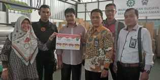 Bawaslu Riau Tinjau Proses Percetakan Surat Suara Pilgubri