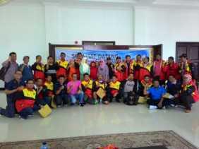PWI Riau Berhasil Membawa Lima Medali ke Riau