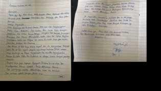 Ini Surat Wasiat dari Dian, Wanita Yang Berencana Bom Bunuh Diri di Istana Negara