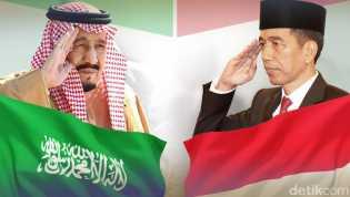 Jokowi Minta Perlindungan WNI kepada Raja Salman