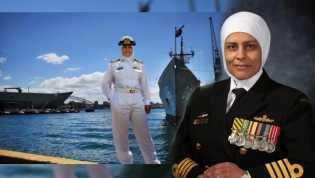 Wanita Muslim Yang Menjadi Kapten Kapal Perang Australia
