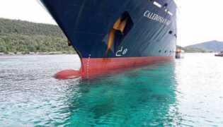 Kapal Pesiar Inggris Hancurkan Terumbu Karang Raja Ampat