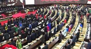 Pidato Jokowi di Sidang Tahunan MPR