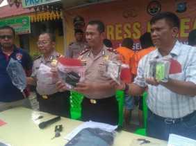 Ditangkap Saat Beraksi, Dua Pelaku Pencurian Bermodus Gembos Ban Meringkuk di Sel