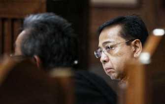 Jaksa Putar Rekaman Telepon Setnov dan Rekannya Bahas e-KTP