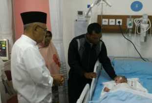 Pemprov Riau Tanggung Seluruh Biaya Berobat Warga Kampar Alhafizi di RSUD Arifin Achmad