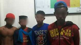 Perkosa Gadis 18 Tahun, 4 Remaja di Rangsang Meranti Diamankan Polisi