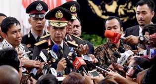 Kapolri minta DPR segera revisi UU Terorisme