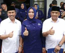 Rebut Suara Perempuan, Dewan Cantik Ini Road Show Keliling Riau Kampanyekan Syamsuar - Edy Nasution