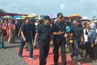 Naik Heli, Sri Sultan HB X Ikut Meriahkan JAS 2018
