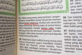 Heboh... Beredar Alquran Terjemahan Surat Al-Maidah:51, Kata Pemimpin Diganti Teman Setia di Pekanba