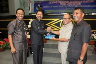 Rapat Paripurna DPRD Penyampaian LKPj Tahun 2016 Kota Pekanbaru