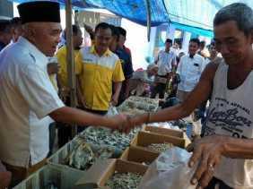 Andi Rachman Kampanye di Inhu, Rusli Zainal Doakan Andi Lanjutkan 2 Periode