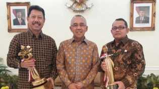 Pemprov Riau, Pemko Pekanbaru dan Bengkalis Terbaik Bidang Lalulintas