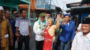 Rusli Janji Tuntaskan Pembangunan Jalan di Rohil Jika Menang Pilgubri
