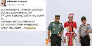 Penghinaan Terhadap Jokowi di Facebook Mematik Kemarahan Warga Daerah