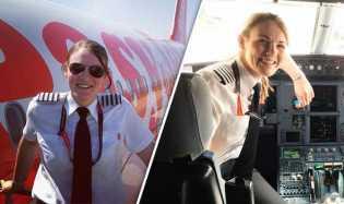 Wow, Wanita Cantik Ini Sandang Gelar Pilot Termuda di Dunia