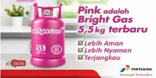 Gas 5,5 kilogram Resmi Beredar di Riau