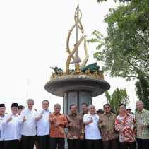 Tugu Integritas yang Diresmikan Ketua KPK Disidik Kejati Riau