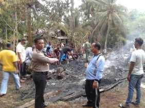 Rumah Janda Ludes Terbakar, Saksi Mata Lihat Percikan Api dari Meteran Listrik